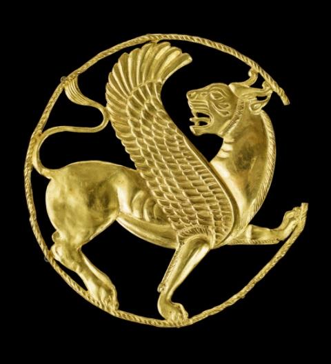 Achaemenid Gold Lion