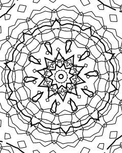 Mandala coloring book Grace Brannigan