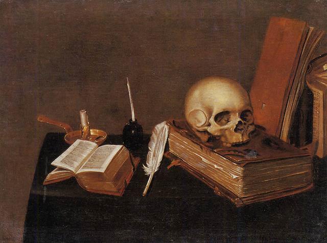 Michael Conrad Hirt -  Vanitas Still Life (1630)